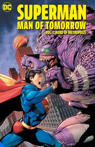 SUPERMAN MAN OF TOMORROW VOL 1 HERO OF METROPOLIS TP