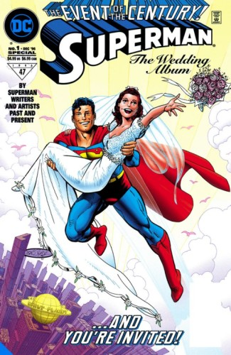SUPERMAN & LOIS LANE THE 25TH WEDDING ANNIVERSARY DELUXE EDITION HC