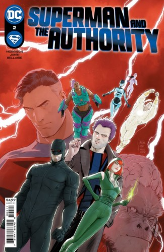 SUPERMAN AND THE AUTHORITY #2 (OF 4) CVR A MIKEL JANIN