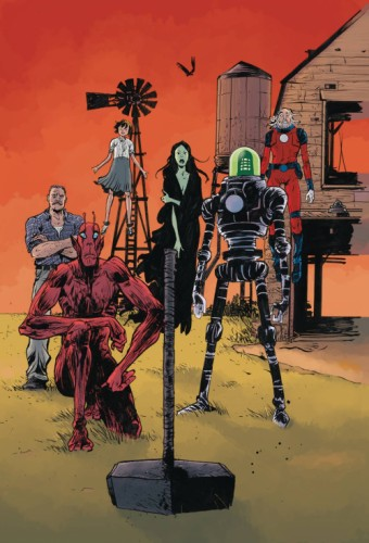 BLACK HAMMER AGE OF DOOM #12 CVR B POPE & STEWART