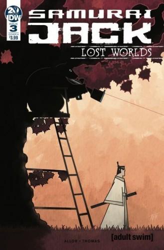 SAMURAI JACK LOST WORLDS #3 CVR A THOMAS