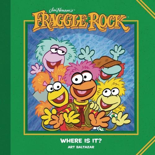 JIM HENSONS FRAGGLE ROCK WHERE IS IT HC