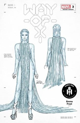WAY OF X #3 DAUTERMAN EMMA FROST DESIGN VAR