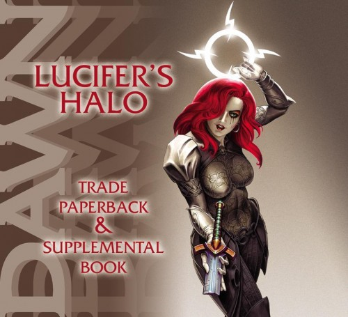 DAWN TP VOL 01.5 LUCIFERS HALO SUPPLEMENTAL BOOK LUCIFERS HA