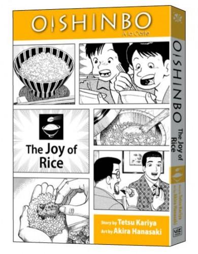OISHINBO VOL 06 JOY OF RICE