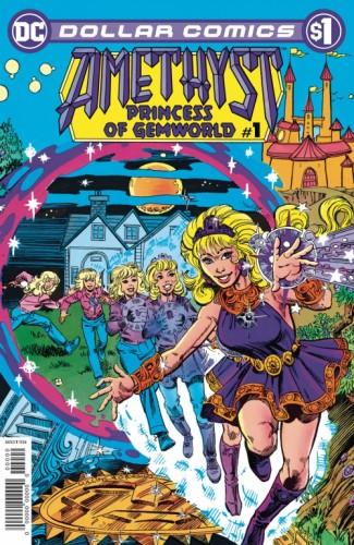 DOLLAR COMICS AMETHYST 1985 #1