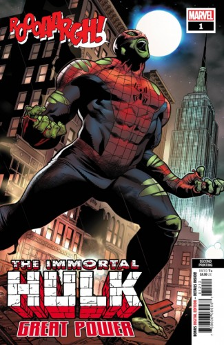 IMMORTAL HULK GREAT POWER #1 2ND PTG MOLINA VAR