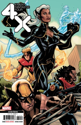 X-MEN FANTASTIC FOUR #1 (OF 4) 2ND PTG DODSON VAR