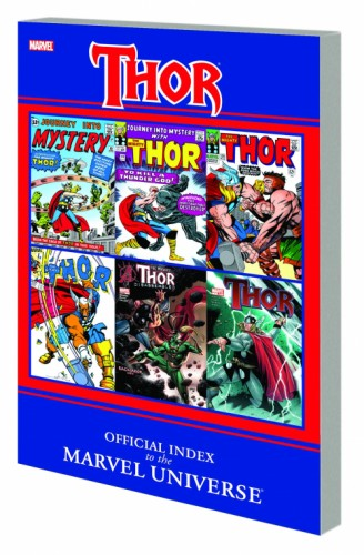 THOR OFFICIAL INDEX TO MARVEL UNIVERSE GN TP