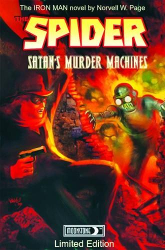 SPIDER SATANS MURDER MACHINES HC