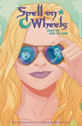 SPELL ON WHEELS TP VOL 02 JUST TO GET TO YOU