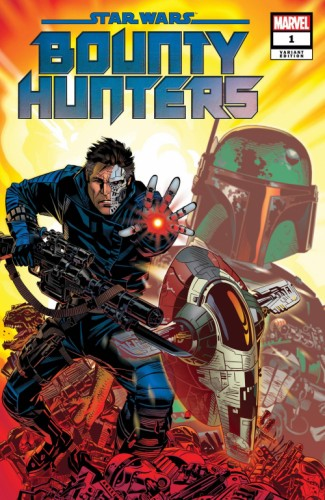 STAR WARS BOUNTY HUNTERS #1 GOLDEN VAR