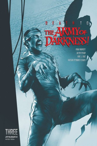 DEATH TO ARMY OF DARKNESS #3 21 COPY OLIVER TINT FOC INCV