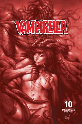 VAMPIRELLA #10 15 COPY PARRILLO TINT FOC INCV