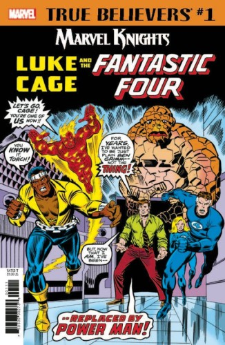 TRUE BELIEVERS MK 20TH ANNV LUKE CAGE FANTASTIC FOUR #1