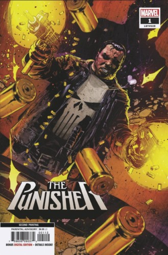 PUNISHER #1 2ND PTG KUDRANSKI VAR
