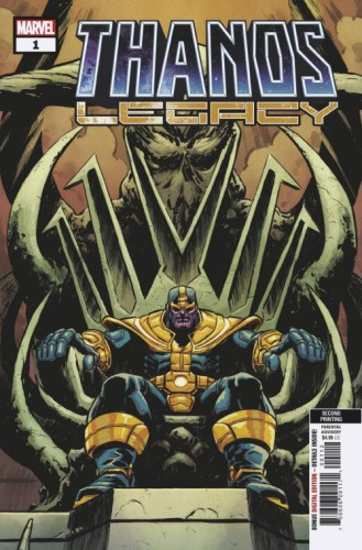 THANOS LEGACY #1 2ND PTG LEVEL VAR
