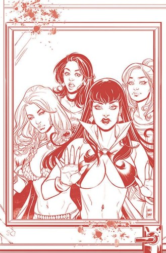 RED SONJA VAMPIRELLA BETTY VERONICA #5 21 COPY BRAGA TINT VI
