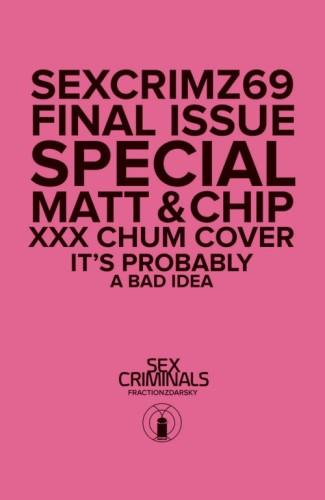 SEX CRIMINALS #69 XXX PHOTO VAR