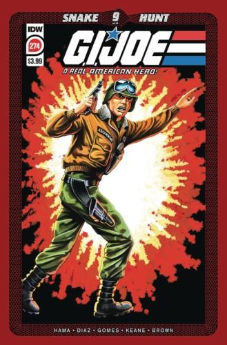 GI JOE A REAL AMERICAN HERO #274 2ND PTG
