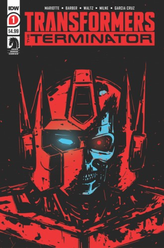 TRANSFORMERS VS TERMINATOR #1 (OF 4) 2ND PTG
