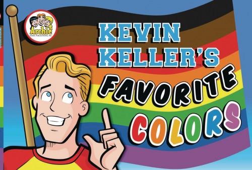 ARCHIES KEVIN KELLERS FAVORITE COLORS BOARD BOOK