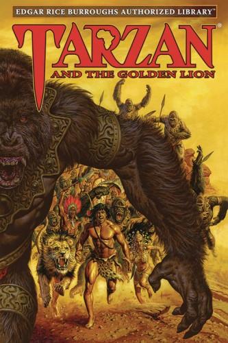 ERB AUTH LIB TARZAN HC VOL 09 TARZAN & GOLDEN LION
