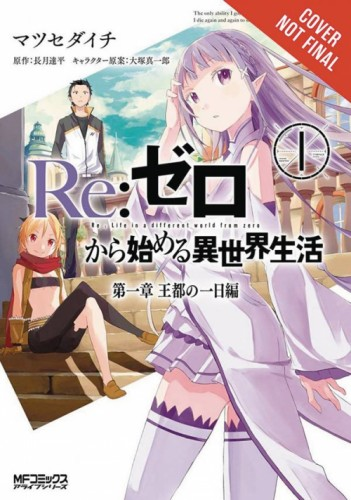 RE ZERO LIGHT NOVEL VOL 01