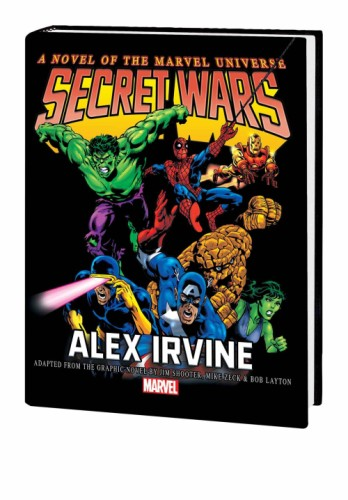 SECRET WARS PROSE NOVEL HC