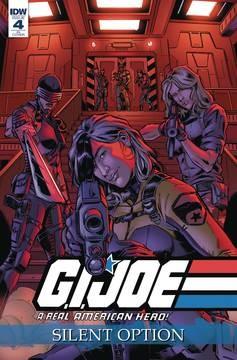 GI JOE A REAL AMERICAN HERO SILENT OPTION #4  10 COPY