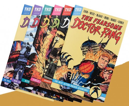 THE FEARSOME DOCTOR FANG 6 ISSUE BOX
