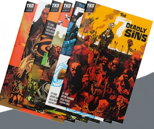 THE 7 DEADLY SINS 6 ISSUE BOX SET