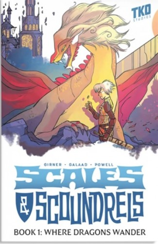 SCALES & SCOUNDRELS BOOK 1: WHERE DRAGONS WANDER